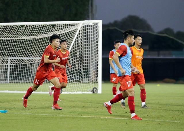 ĐT U23 Việt Nam dốc sức tập luyện tại UAE, hướng tới Vòng loại U23 châu Á 2022 - Ảnh 2.