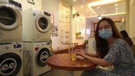 Tiệm cà phê giặt là ở Hà Nội dành cho người độc thân