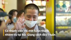 Sinh viên Hải Dương bay vào tâm dịch chi viện cho TP HCM