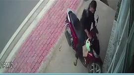 Chiêu ăn cắp xe có một không hai