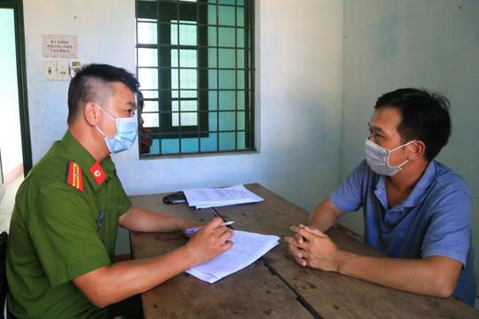 Tạm giữ hình sự đối tượng giả danh Báo Pháp Luật Việt Nam