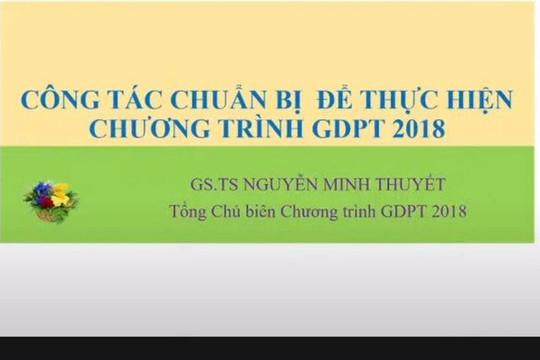 Quận Ba Đình sẵn sàng triển khai chương trình GDPT năm học 2021 -2022