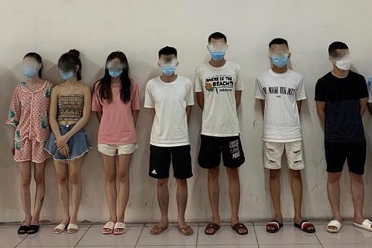 Thanh niên quê Nam Định tổ chức bay lắc trong căn hộ cao cấp ở Hà Nội