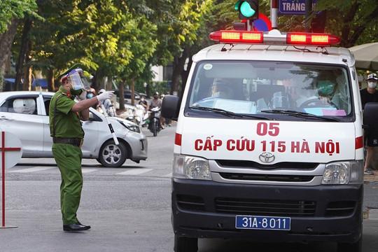 Bệnh viện Việt Đức thêm 2 F0 là người nhà bệnh nhân