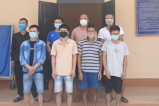 Hà Nam: Bắt quả tang nhóm thanh niên tụ tập đánh bạc giữa mùa dịch
