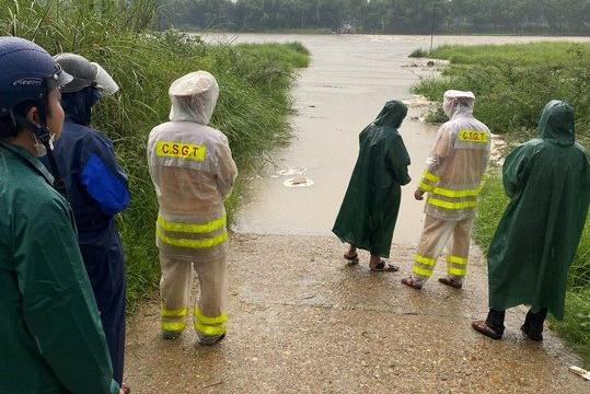 5 người bị nước cuốn trôi ở Quảng Nam