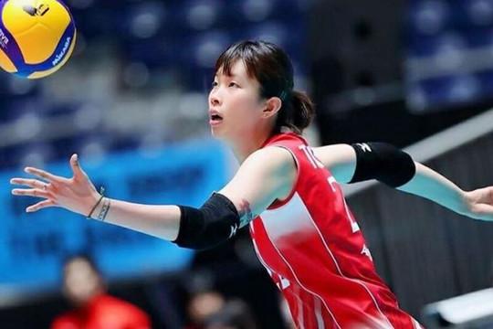 Vận động viên bóng chuyền Trần Thị Thanh Thúy sang Nhật thi đấu