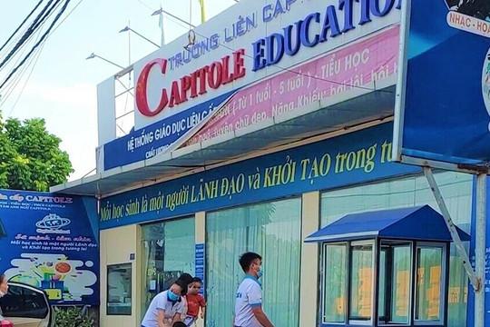 Trường Capitole bị phạt 30 triệu đồng vì học trước quy định