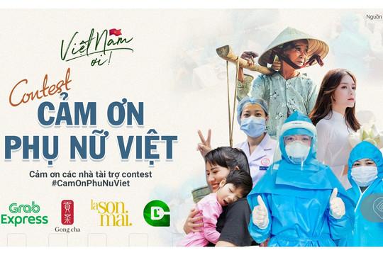 """Cuộc thi """"Cảm ơn phụ nữ Việt"""" tôn vinh phái đẹp nhân ngày 20/10"""