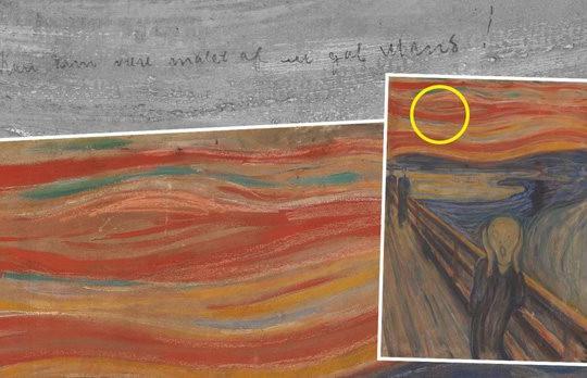 """Chấm nhỏ trên bức tranh """"Tiếng thét"""" khiến hậu thế mất 1 thế kỷ để giải mã"""